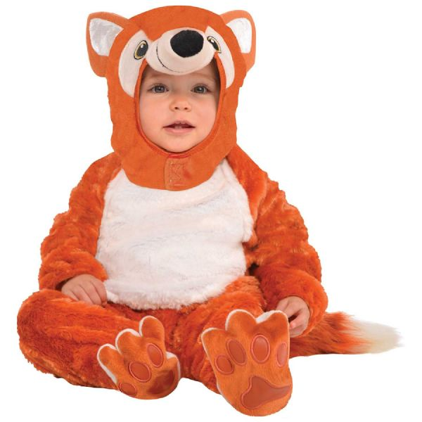 Cstm Furry Fox Costume Toddlers Fancy Dress Outfit